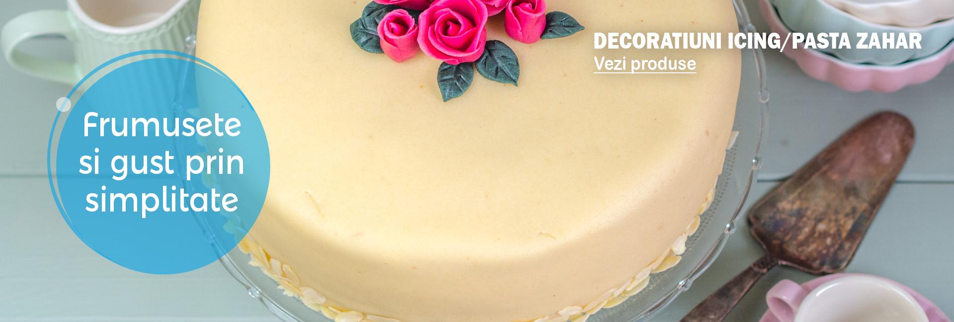 Decoratiuni Icing/Pasta zahar